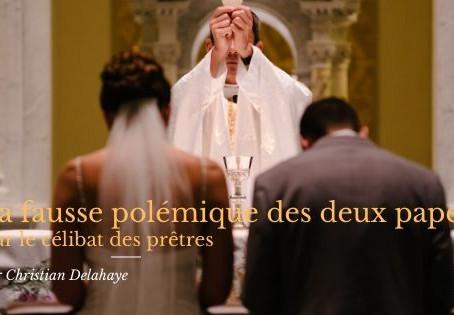La fausse polémique des deux papes sur le célibat des prêtres