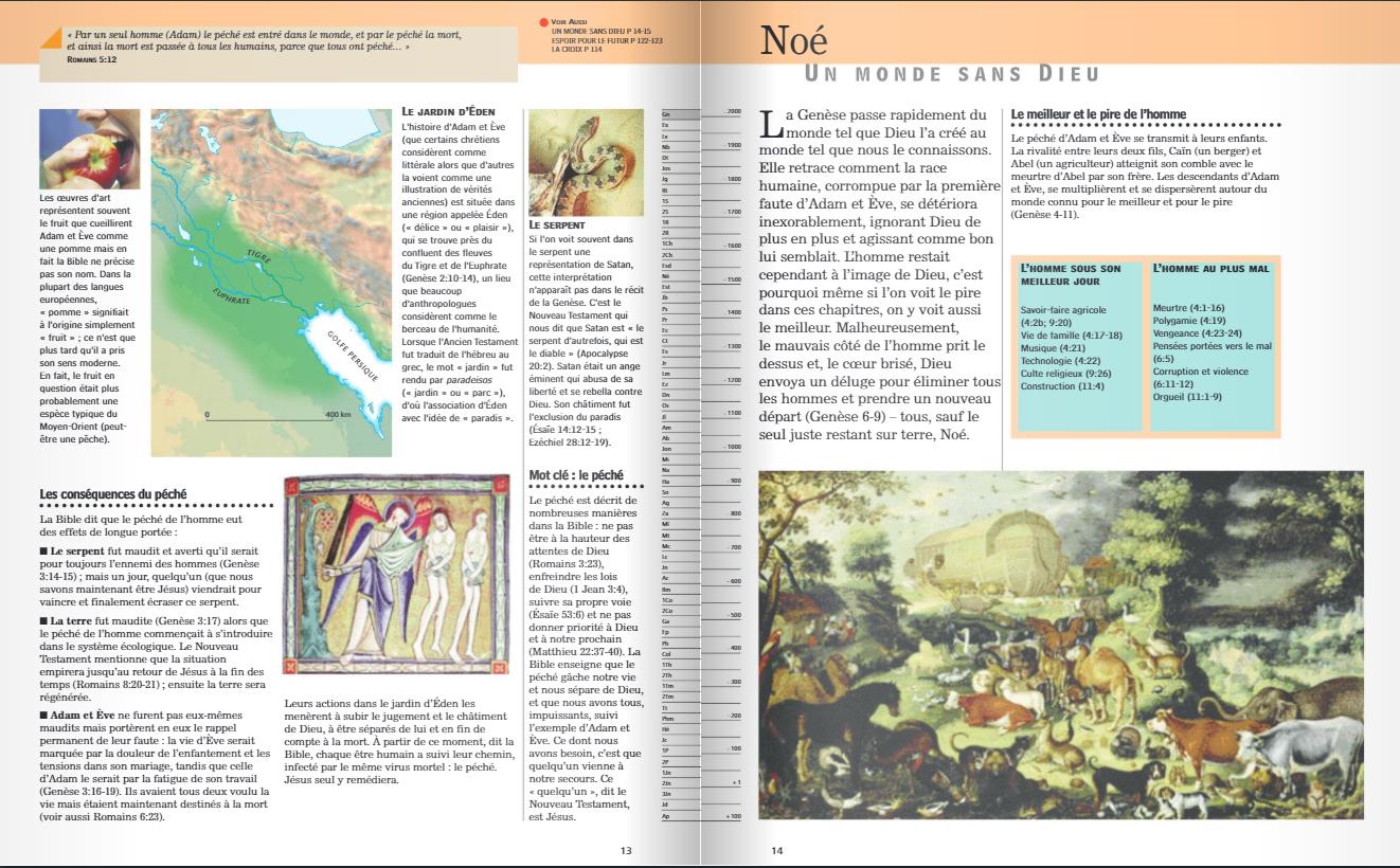 La Bible, guide de lecture illustré extr