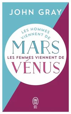 Les hommes viennent de Mars, les femmes
