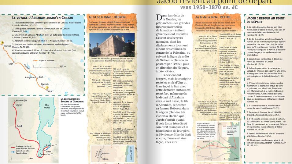 Nouvel atlas de la Bible