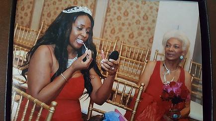 Image Photo Nichelle Nichols and Angelique Fawcette at Angelique's wedding...