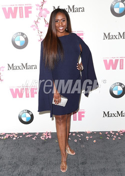 Angelique Fawcette at the Women In Film Crystal Lucy Awards