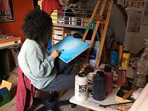 Thelma Gonnet - Prix Artistes d'Avenir 2019 - Blacknwhiteart