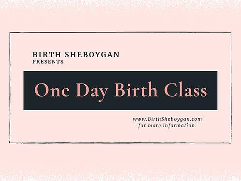 One Day Birth Class