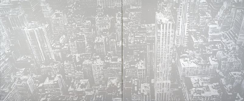 Patrice Palacio - Point Plan Trait n°3.3+ 3.4 - Oeuvre originale - Galerie G