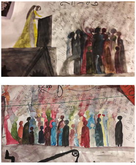 Illustrations pour projet collectif 2018