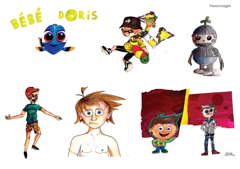 Imaginative drawings