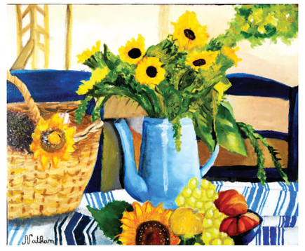 Acrylic on canvas 73 x 54 cm