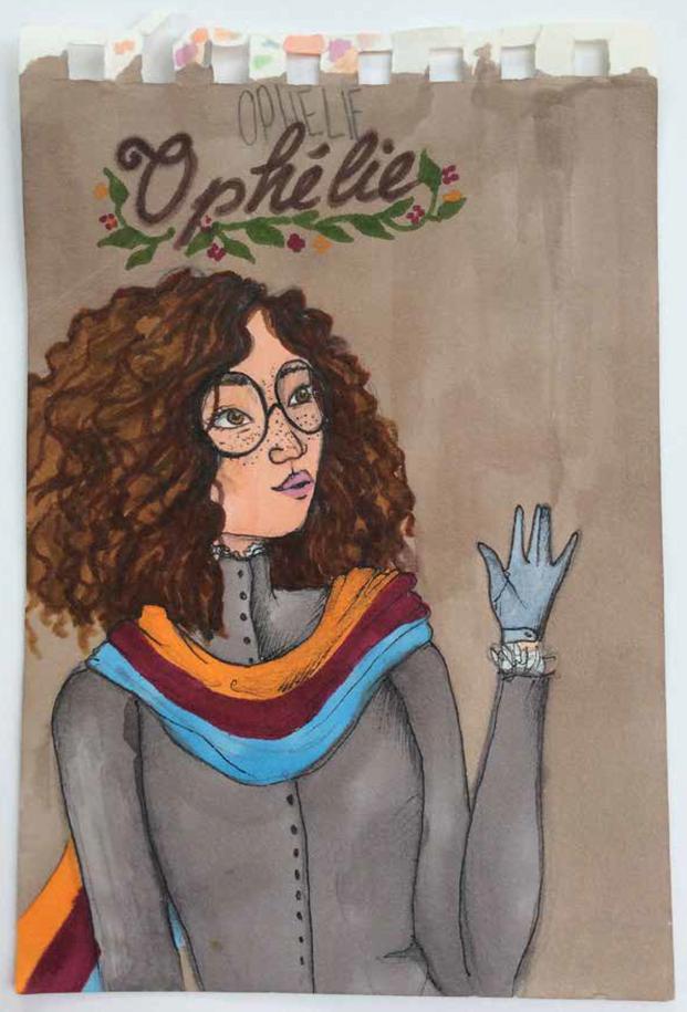 Recherches personnelles autour des personnages La Passe-Miroir, C.Dabos - 2019