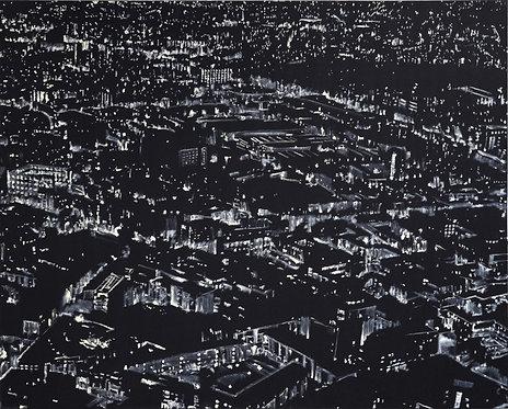 Patrice Palacio - Point Plan Trait n°22 - Tirage d'Art en édition limitée - Galerie G
