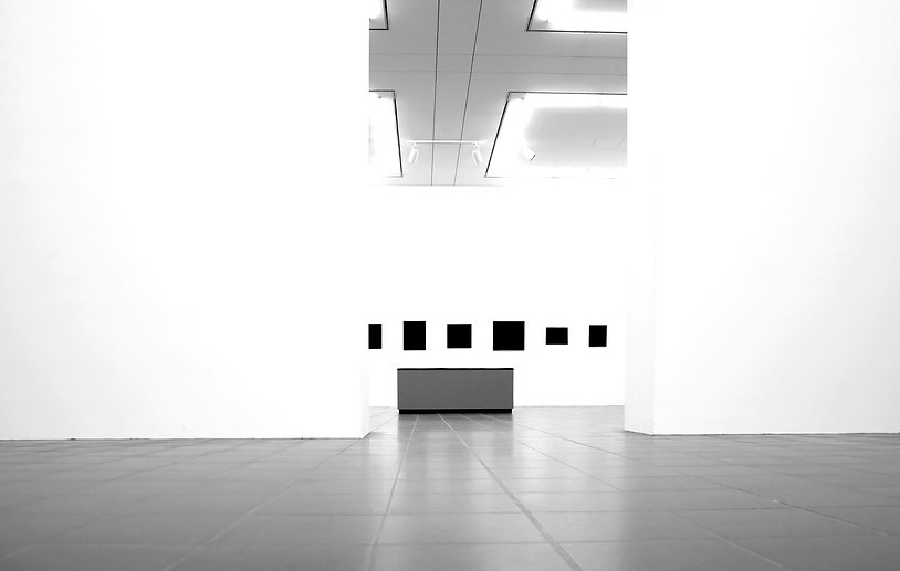 Contemporary Art Gallery - Nuance - Black and white