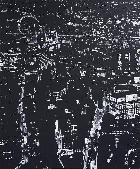 Patrice Palacio - Point Plan Trait n°12 - Tirage d'Art en édition limitée - Galerie G