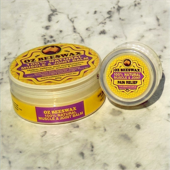 Muscle & Joint Balm + Pain Relief Balm
