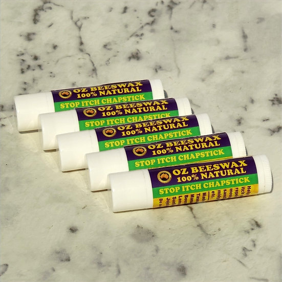 Stop Itch Chapstick - 5 Pack