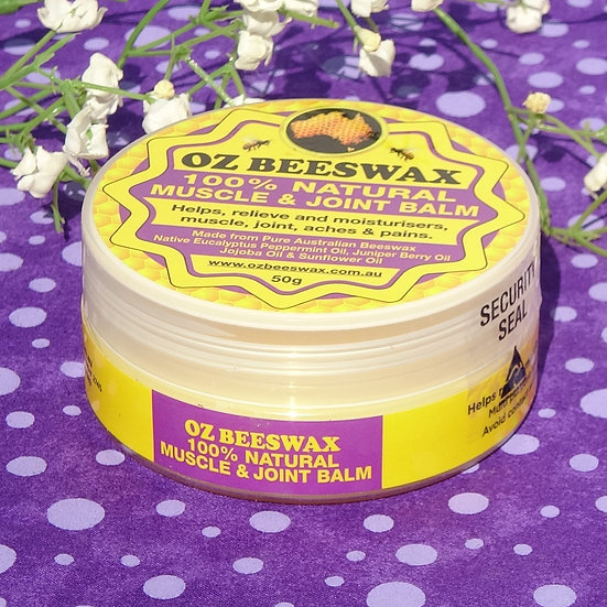 Beeswax Muscle and Joint Balm