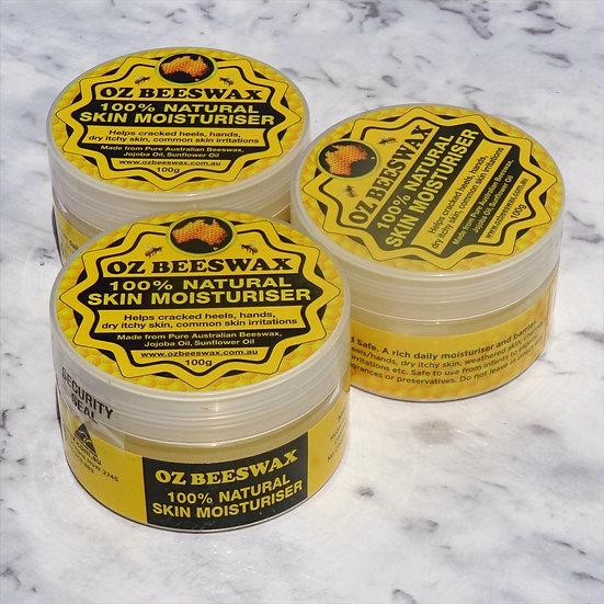 Beeswax Moisturiser Triple Pack