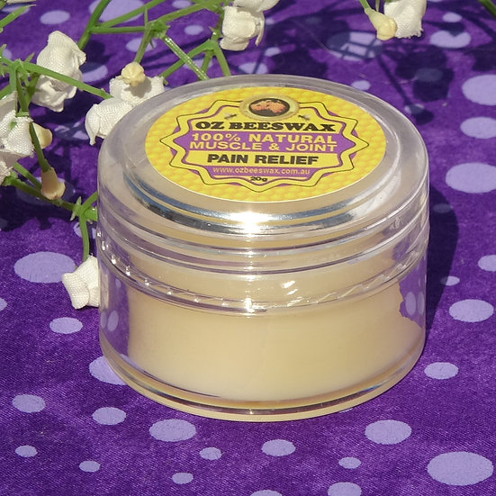 Beeswax Muscle & Joint Pain Balm Sm