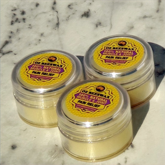 Beeswax Muscle & Joint Balm - Triple Pack Sm