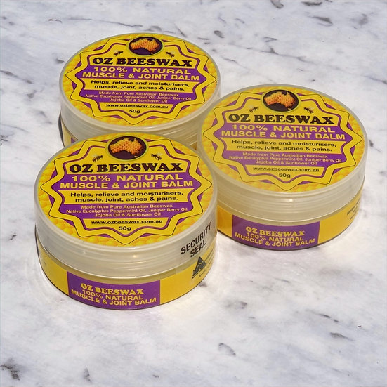 Muscle and Joint Balm - Triple Pack
