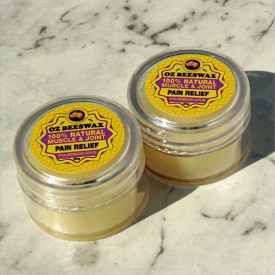 Beeswax Muscle & Joint Balm - Double Pack Sm