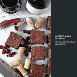 brownie vin rouge