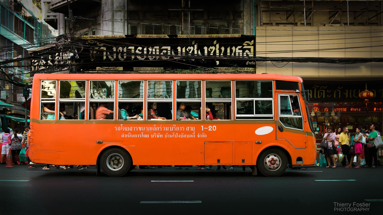 bus à Chinatown