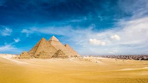 Photo des pyramides en Egypte