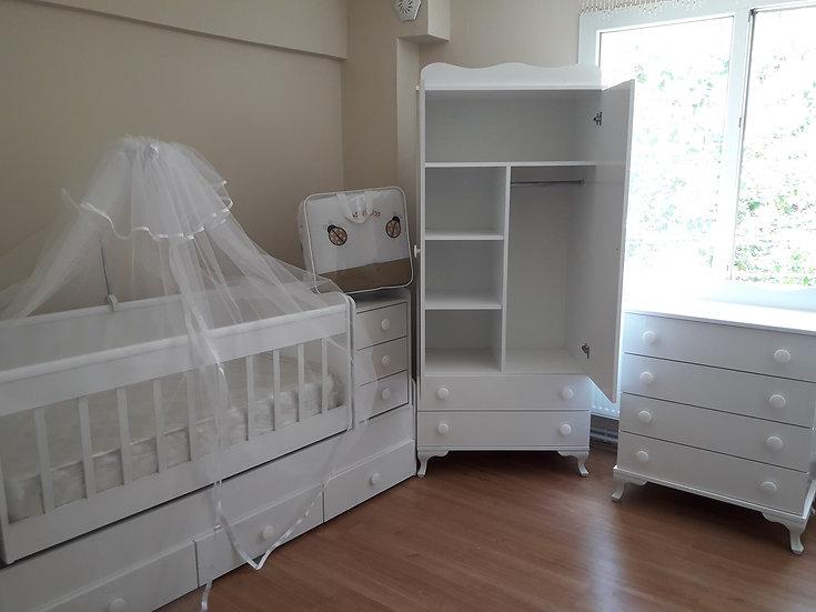tombik bebek odası takımı