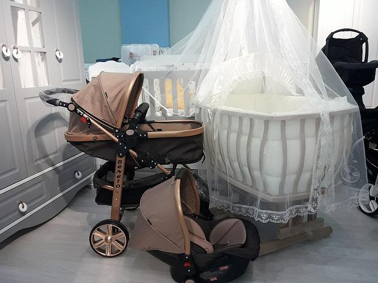 sepet beşik ve travel sistem bebek arabası