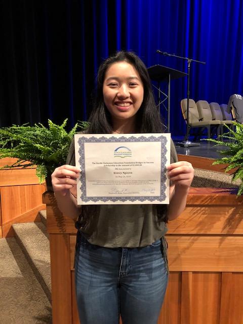 Kimvy Nguyen- 2019 NCEF Scholarship