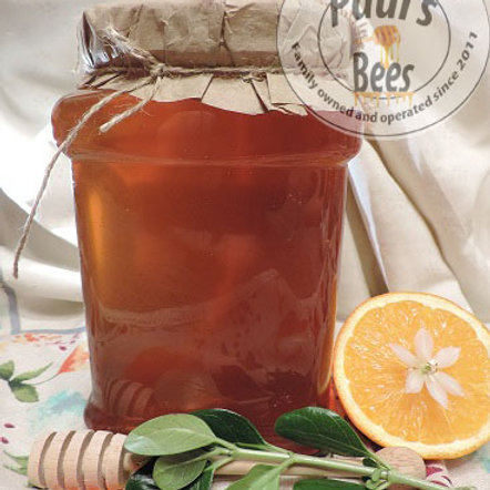 1/2 gallon Orange Blossom Honey