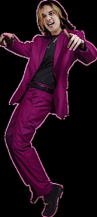 Zian Purple Blazer for Hampir Tertipu la