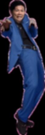Andika blue blazer for Hampir Tertipu La