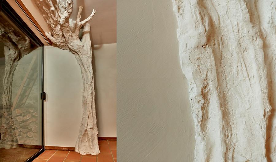"""""""Arbre"""" - sculpture plâtre"""