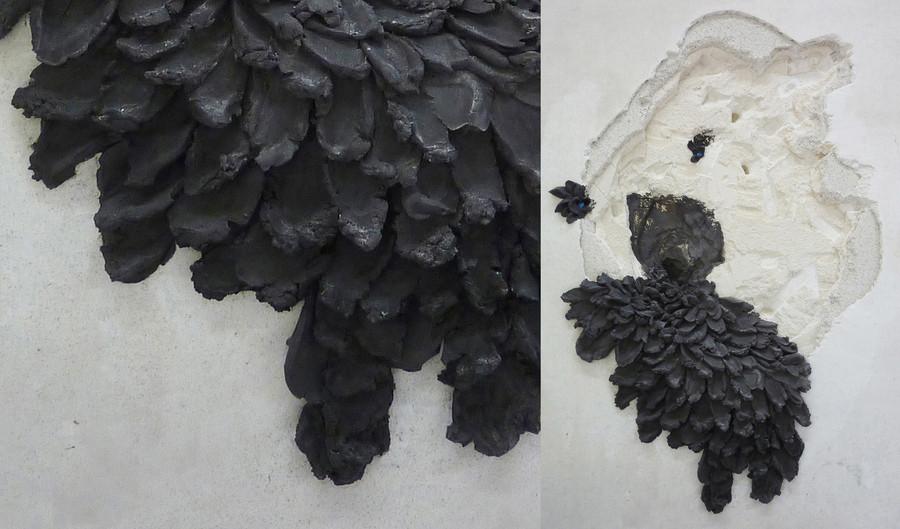 """Fungus"" - sculpture chaux/plâtre - EEAM Albi"