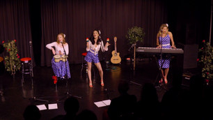 Performance shot from 'An Evening With The Sass Sisters