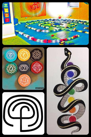 Private Labyrinth Walk Sessions - Balance the Chakras and Access the Archetypes