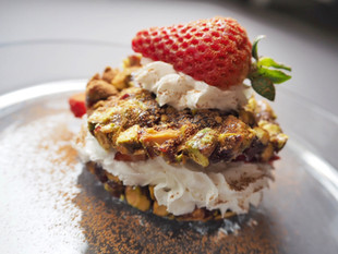 Pistachio Chewy Bite Strawberry Shortcake