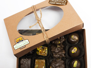 Setton Pistachio Chewy Bites Announces New Partnership with Stafford's Famous Chocolates
