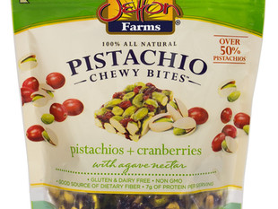 Introducing New Pistachio Chewy Bites Packaging