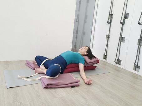 女生月事的瑜伽練習