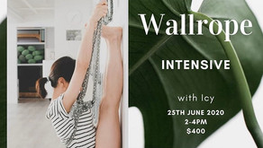 Wallrope Intensive with Icy 25 Jun 2020