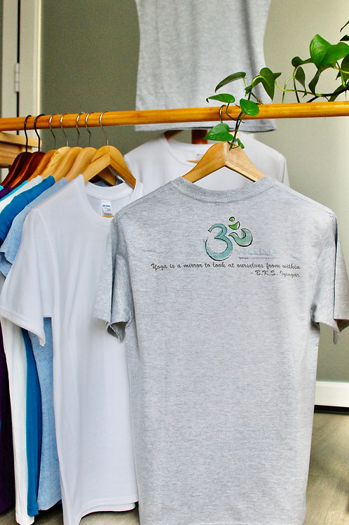 YOGAŚĀLĀ Om (At The Back) T-Shirt
