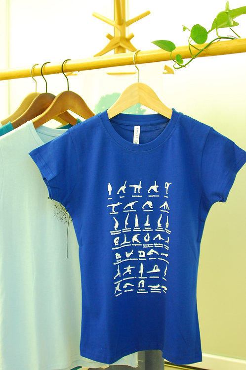 India Asana (Round-Neck) T-Shirt