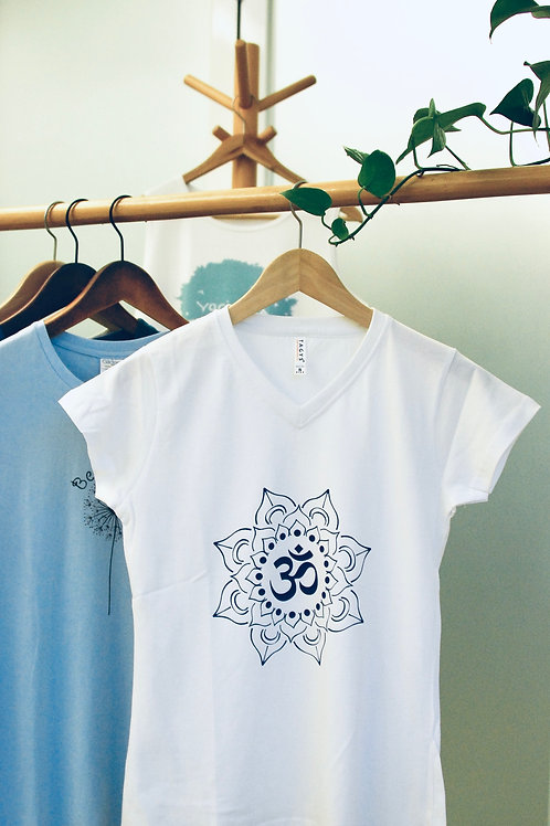 India Om (V-Neck) T-Shirt