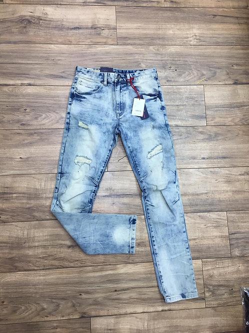 Smoke rose jeans