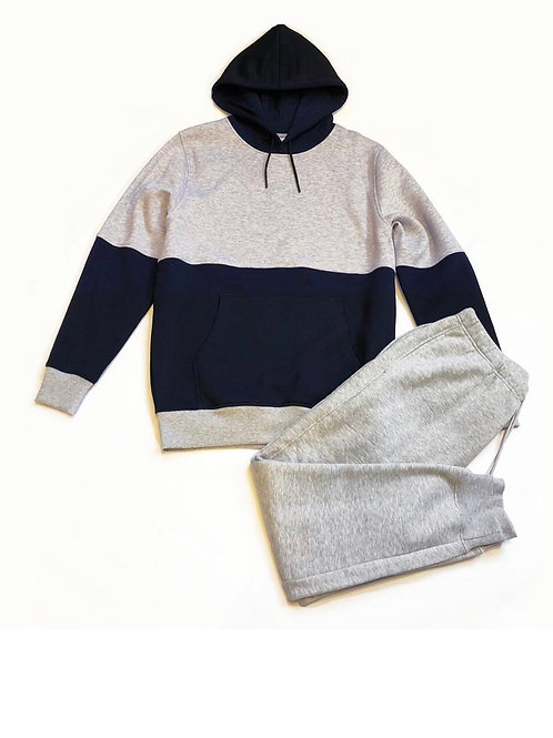 Sweat hoodie and sweat pants