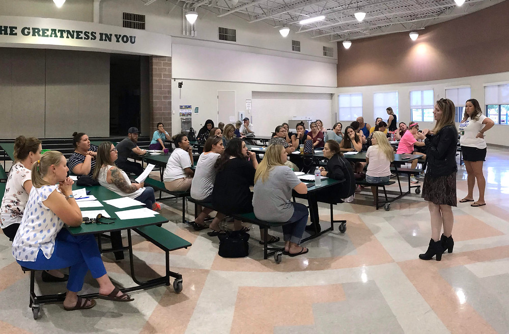 Great turnout at the September meeting!