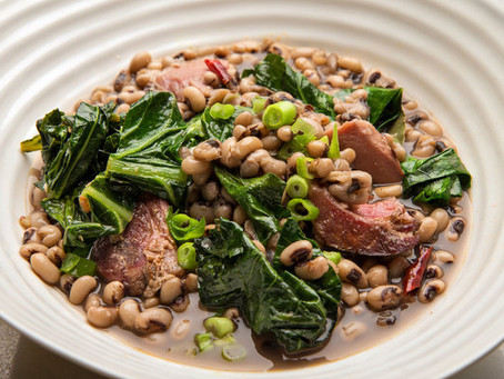 The Magic Behind Eating Black Eyed Peas & Leafy Greens for New Year's Day