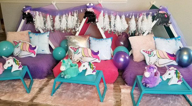 Slumber Village Unicorn Sleepover%